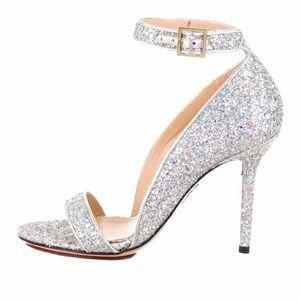 charlotte olympia talitha glitter sandal 36.5